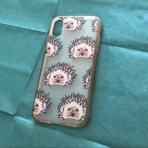 ✨ 4/$15 Hedgehog Case for iPhone X/XS